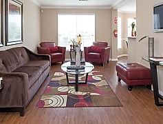 Concord at Allendale Living Area, Houston, Texas