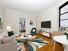Living Room, 208 E 84th St 5D, 0