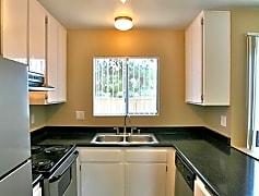 Kitchen, Palm Village Apartments, 0