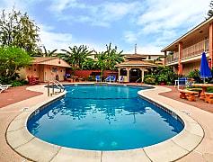 Pool, Texan Guest Ranch Apartments, 0