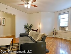 Living Room, 2108 Hayes St, 0