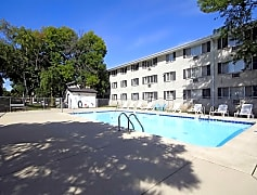 Pool, Lincoln Crest Apartments, 0