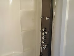 New Shower with Shower Panel
