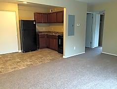 Harley floor plan living room/ kitchen