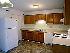 Kitchen, The Courtyard Townhome Apartments, 0