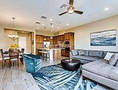 Living Room, 7338 E Casitas Del Rio Dr, 0