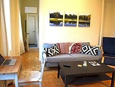 Living Room, 255 W 10th St 2FS, 0