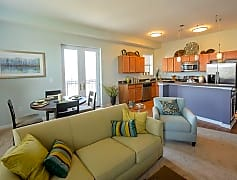 Entertaining guests is simple in your open floor plan!