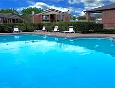 Pool, Valley Creek Apartments, 0