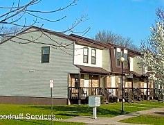 Building, Meadow Ridge Town Homes 600 E Campus Dr, 0