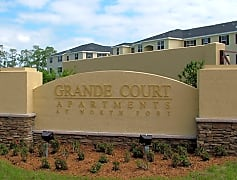 Grande Court at North Port Sign