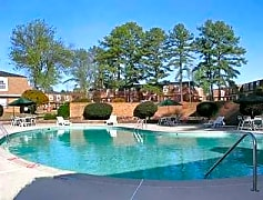 Pool, Brittany Place Apartments, 0
