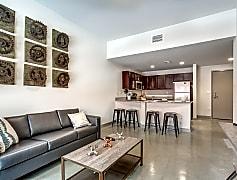 Living Room, Edge Merrimack River - PER BED LEASE, 0
