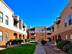 Courtyard, Ranchwood Apartments, 0