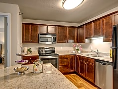 Fairways Kitchen with Stainless Steel Appliances