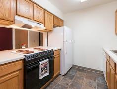 Bradbury Apartments - 1 Bedroom - Kitchen