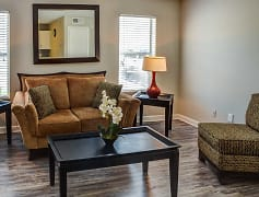 Living Room, Woodhaven Apartments, 0