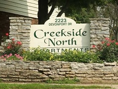 Community Signage, Creekside North Apartments, 0