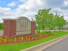 Community Signage, River Hills Apartments, 0
