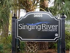 Community Signage, Singing River Apartments, 0