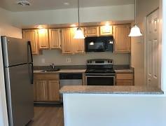 Kitchen, Skyview Apartments, 0