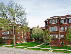Building, Oak Park Apartments, 0