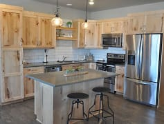 Kitchen, Skaff Apartments - Fargo, 0