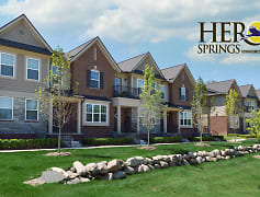 Community Signage, Heron Springs Townhomes and Apartments, 0