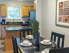 Dining Room, Summit and Birch Hill Apartments, 0