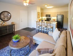 Living Room, Woodcreek Apartments, 0