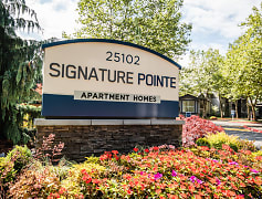 Kent Apartments - Signature Pointe Apartment Homes - Sign