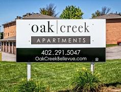 Community Signage, Oak Creek Apartments, 0