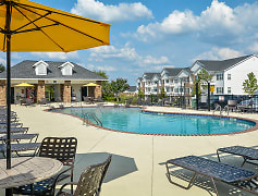 Sparkling Outdoor Pool and Sundeck