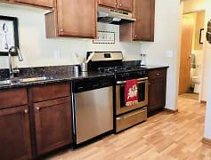 Kitchen, Granite City Apartments, 0