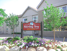 Community Signage, Sterling Troy Apartments, 0