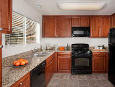 Kitchen, Del Mar Apartments, 0
