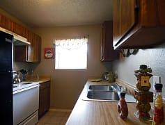 Kitchen, Meadows Apartments, 0