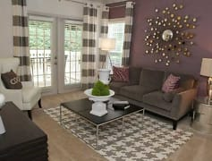 French doors- it's the extra touches that make an apartment feel like home