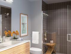 Bathroom, The Skylyne, 0