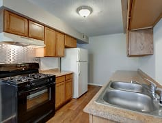 Kitchen, Nevada Apartments, 0