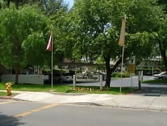 Community Signage, Garden Village Apartments, 0
