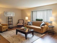 Living Room, Maiden Bridge and Canongate Apartments, 0