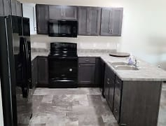 Kitchen, Tiger Way Apartments, 0