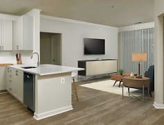 Finish Package IV Kitchen, living, and dining areas with hard surface flooring