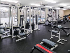 Fitness Center Shared with Royalwood Apartments in Omaha, Nebraska