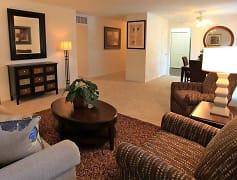 Living Room, Eagle Creek Court, 0