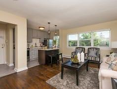 Living Room, Minikahda Court Apartments, 0