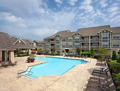 Resident Activity Center Pool and Sundeck