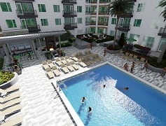 Pool, Sanctuary at CenterPointe Apartments, 0
