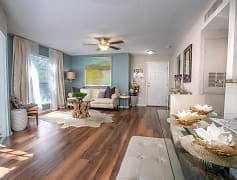 Large living rooms with an abundance of natural light and can fit just about any sofa you desire.  Each newly remodeled apartment home has a new ceiling fan in the living room and all updated light fixtures  as well.